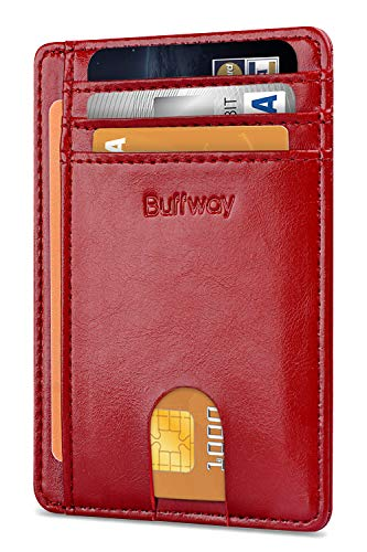 Buffway Minimalist Blocking Leather Wallets product image