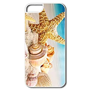 Geek Interior Scratch Protection Seastar Shells IPhone 5/5s Case For Birthday Gift