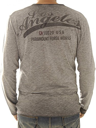 Key Largo Shirts Langarmshirts Ls Los Angeles Round Ls00171-1107