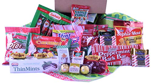 Christmas Candy Care Package - Large - Over 3 lbs of Candy!