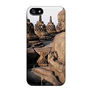 IdC1215vVHO Wade-cases Buddha Durable Iphone 5/5s Flexible Soft Case