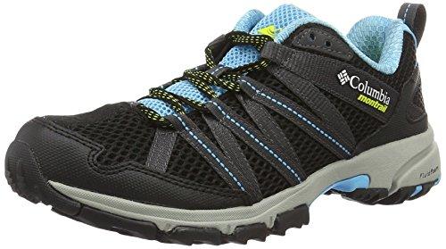 Columbia Montrail Women's Mountain Masochist III Running Shoe, Bounty Blue, Black, 7 B US by Columbia Montrail