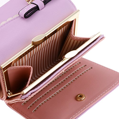 7x8 Monedero Pu Titular Para Bolso De Colgante Con Crédito Corto Tarjeta Gato 10 Mujer Regalo Púrpura 6cm 2x3 Cuero Embrague Magideal wxTYI6Iq