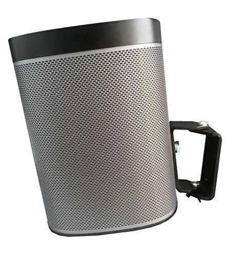 1 pezzo staffa a muro 80 gradi , ideale per Sonos Play 1 in nero Rednose-Tec na