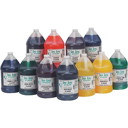 Gold Medal Sno Cone - Gold Medal Prod. 1224 Sno-Kone Syrup (Pack of 4)