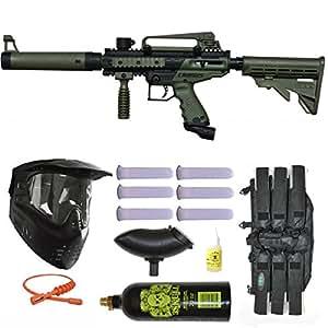 Tippmann Cronus Tactical Paintball Gun 3Skull Mega Set - Olive