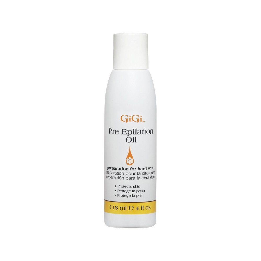 GIGI pre-epilation oil 118ml/4oz, White 0901