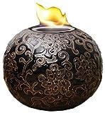 EVERGREEN 2LA428 Emboss Firepot, 7″ x 5-1/2″