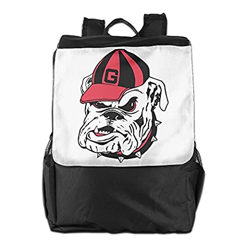 AIJFW Outdoor Travel Bag - University Of Georgia Bulldogs Unisex Backpack Daypack Bookbags Rucksack Book (Georgia Justice)