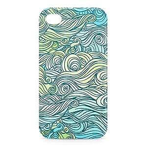 Waves iPhone 4s 3D wrap around Case - Design 4