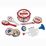fisher price maracas - Fisher Price 10 Piece Band Set Plus Musical Monkey Piano