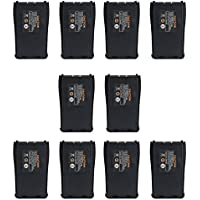 Tenq 2800mah Li-ion Battery for Baofeng Pofung 888s 666s 777 Two Way Radio Walkie Talkie (10 packs)