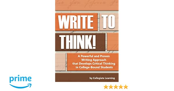 Critical thinking in college writing SlideShare