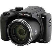BELL+HOWELL B35HDZ 20.0 Megapixel B35HDZ Digital Camera with 35x Optical Zoom PET2
