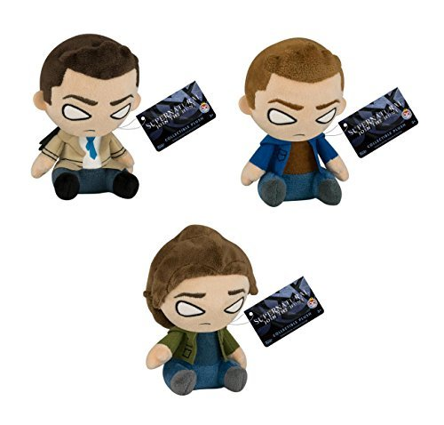 SUPERNATURAL MOPEEZ PLUSH SET FEATURING DEAN, SAM AND CASTIEL ()