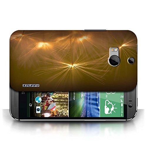 Etui / Coque pour HTC One/1 M8 / Orange conception / Collection de Allumez la vie