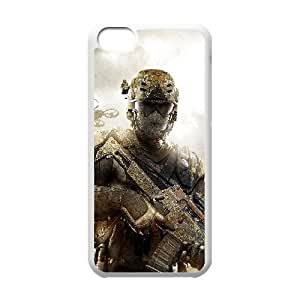 C-EUR Print Call Of Duty Pattern Hard Case for iPhone 5C by Maris's Diary