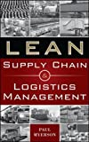 img - for Lean Supply Chain and Logistics Management (Mechanical Engineering) book / textbook / text book