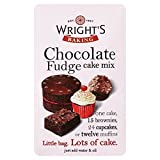 Wright's Chocolate Fudge Cake Mix (500g) - Pack of 6