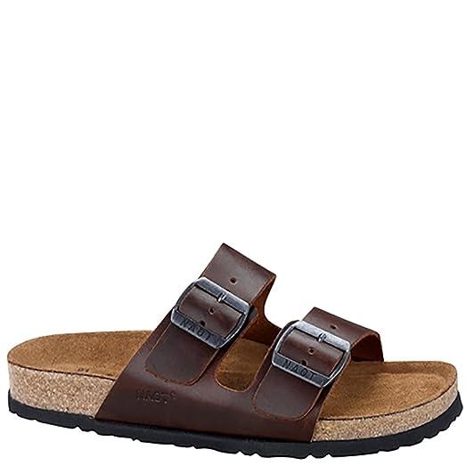 Naot Santa Barbara Classic Men Sandals, Buffalo Leather,Size - 43