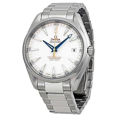 Omega Men's 23110422102004 Seamaster150 Analog Display Swiss Automatic Silver Watch