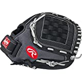 "Rawlings  Youth Mark of a Pro Light Glove, Black/Grey, 11"", Worn on Right Hand"
