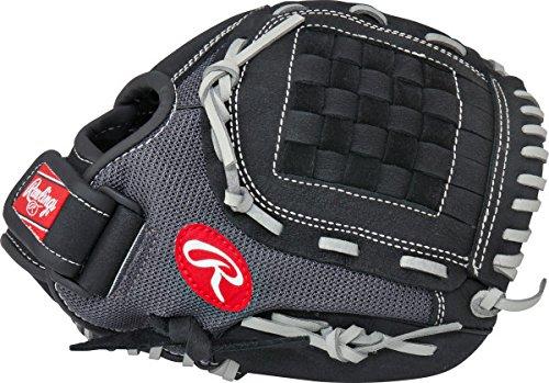 - Rawlings  Youth Mark of a Pro Light Glove, Black/Grey, 11