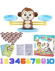 Funmo Monkey Balance Maths Game, Apenbalans Educatief, Cool Math Toys, Wiskundig Telspel, Digitale Toevoeging Tellen Teaching Ducatief Kindercadeau Speelgoed