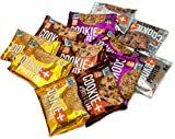 Bake City Cookie Plus Protein   Protein Cookies, 20-24g Protein, Non GMO, Vegan, Plant Based, Kosher, No Artificial Flavors (VARIETY, 12 Cookies)