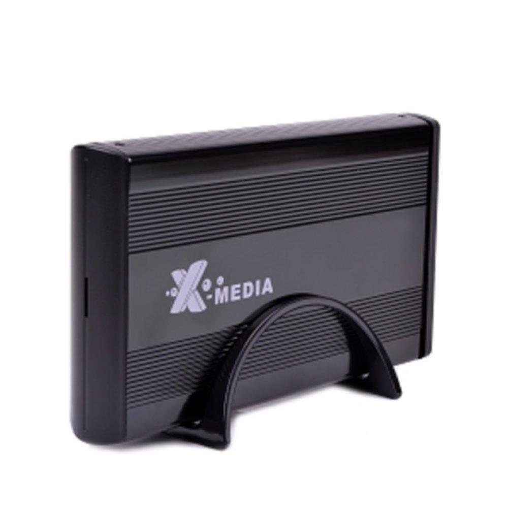 3.5 X-Media XM-EN3400-BK USB 2.0 External IDE/SATA HDD Aluminum Enclosure (Black) - Supports up to 4TB! consumer electronics Electronics
