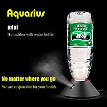 Smart Frog USB Mini Humidifier ortable USB Mini Water Bottle Ultrasonic Essential Oil Diffuser Home Office Air Mag Humidifier
