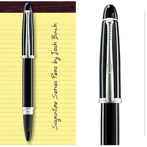 Josh Bach Mens Baseball Themed Rollerball Gift Pen with Baseball Bat ()