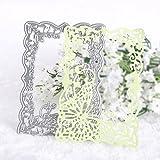 CALISTOUK Various Patterns Metal Cutting Dies Stencils DIY Paper Card Scrapbooking Decorative,Art Butterfly