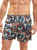 Robert Graham Mens Mach Silk Boxer - Medium