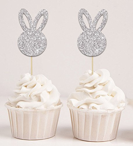 Pack of 6 Easter Cupcake Toppers