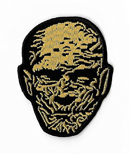 The Mummy Patch (3.5 Inch) DIY Embroidered Iron on Badge Applique Boris Karloff Horror Movie Souvenir Costume Universal Monster Imhotep