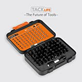 TACKLIFE 61 in 1 Screwdriver Bit Set, PSDB1A
