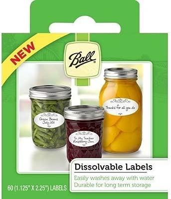 Lot de 360 bola 10734 soluble alimentos etiquetas para ...