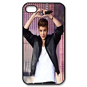 Pop Boy Justin Bieber Hard Plastic phone Case Cover For Iphone 4 4S case cover XFZ413888