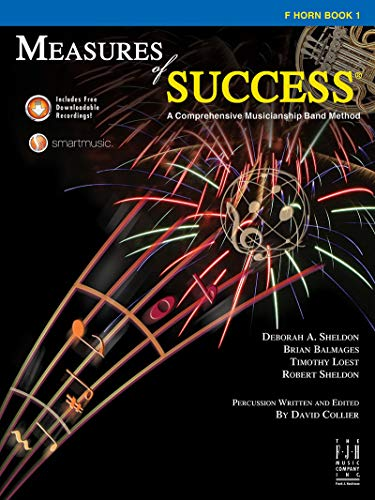 Used, Measures of Success F Horn Book 1 for sale  Delivered anywhere in USA