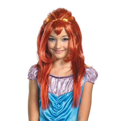 Bloom Wig Costume Accessory (Bloom Winx Club Costume)