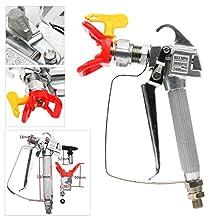 YaeTek Airless Paint Spray Gun 3600 PSI w/Tip&Tip Guard For Graco TItan Wagner Sprayers
