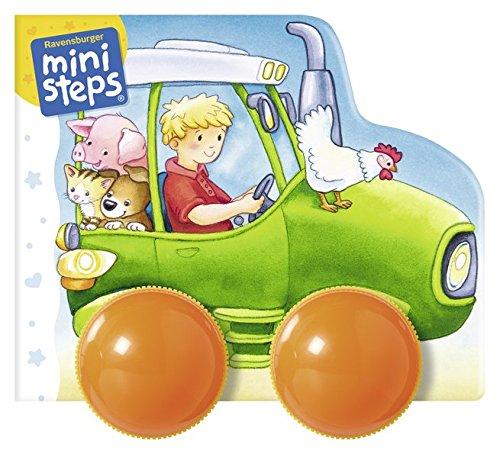 Mein erstes Räder-Rasselbuch: Fahr los, kleiner Traktor!: Ab 12 Monaten (ministeps Bücher)
