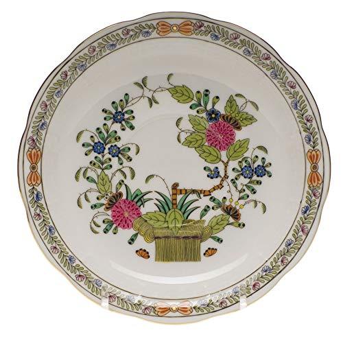 Herend Indian Basket Porcelain Tea Saucer