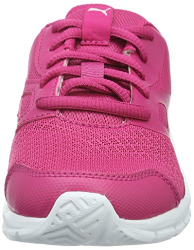 Puma Unisex-Kinder Flexracer PS Sneaker Pink (Beetroot Purple-puma White 02)