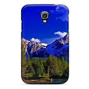 New Fashion Premium Tpu Case Cover For Galaxy S4 - Nature
