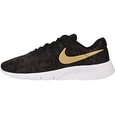 big sale c9e85 85e5e ... greece nike tanjun print gs chaussures de running entrainement homme  gris gris deep pewter metallic gold