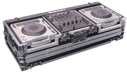 - Odyssey FZ12CDJW Flight Zone Dj Coffin With Wheels For A 12 Mixer And Top Large Format Cd Players