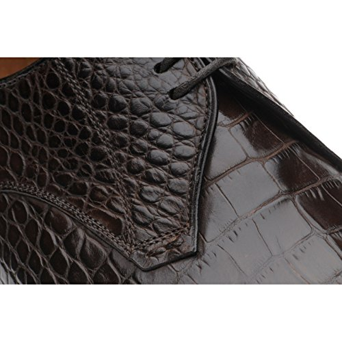 Herring Herring Santano, Scarpe stringate uomo marrone Brown Croc, marrone (Brown Croc), 44.5 EU