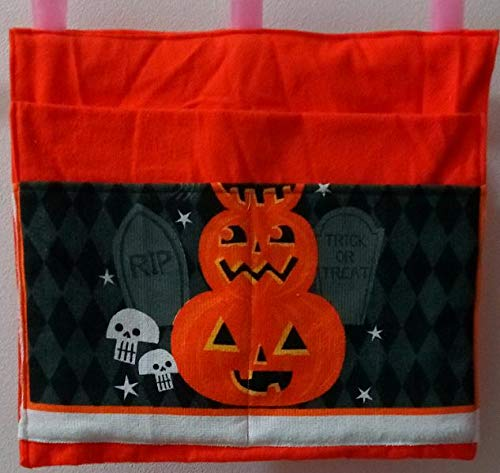 Jack-O-Lantern Bag Pouch Storage Walker Wheelchair Stroller Grocery Cart etc. from Craft and Sewing Box